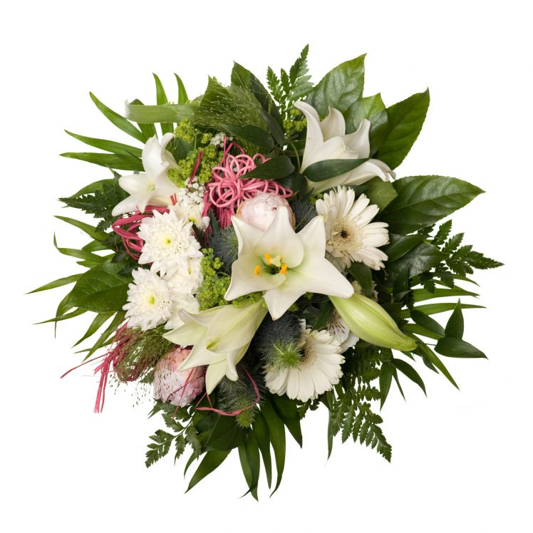 Boquet Bunch of Flower for Special Moments Isolated